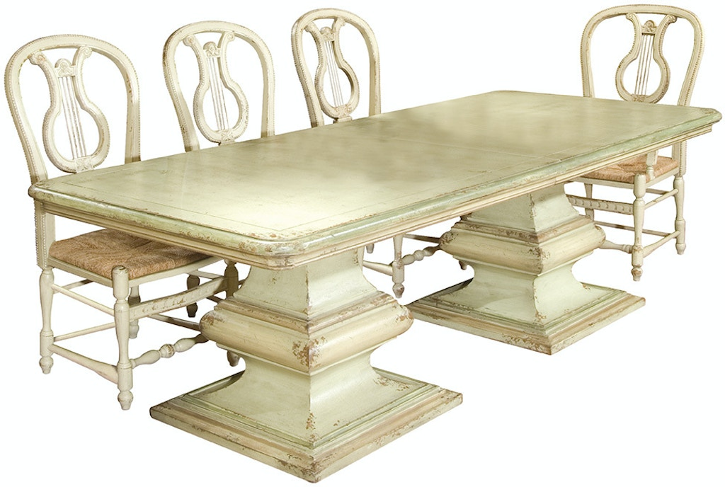 Habersham Plantation Corporation Dining Room San Marco Double Pedestal Dining Table 37 1030