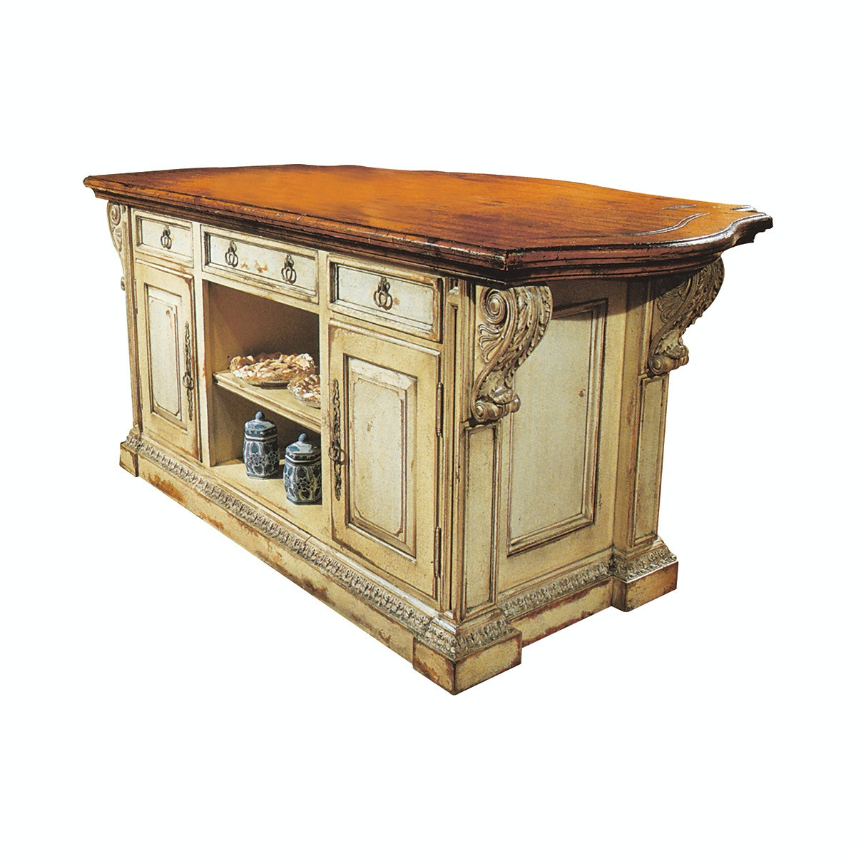Ordinaire Habersham Plantation Corporation Chantepie Kitchen Island 48 Inches  37 3045 48 At Eastern Furniture