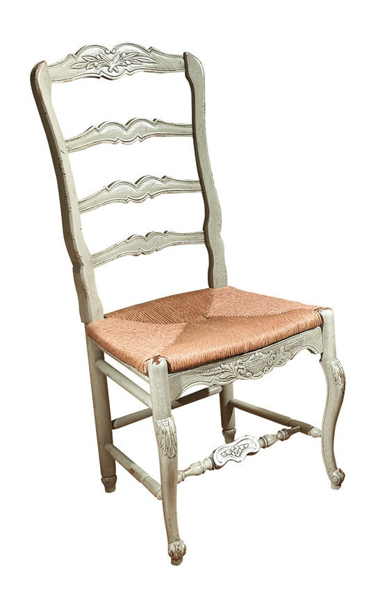 Habersham Plantation Corporation New Country French Side Chair W/Rush Seat  43 5038