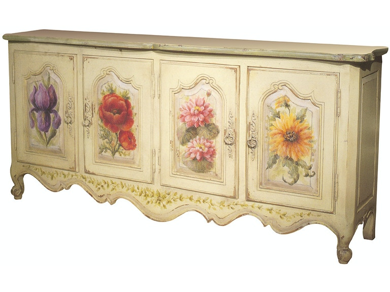 Habersham Plantation Corporation Flowers Sideboard 68 1250a James