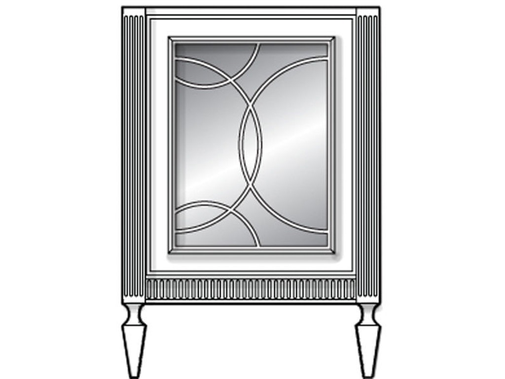 Habersham Plantation Corporation Bathroom Infinity 1 Door Vanity 24 Inches Kb03 1744 24