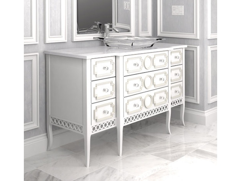 Habersham Plantation Corporation Provence Vanity Group Kb03 1752