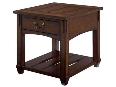 Hammary Rectangular Drawer End Table 049-915