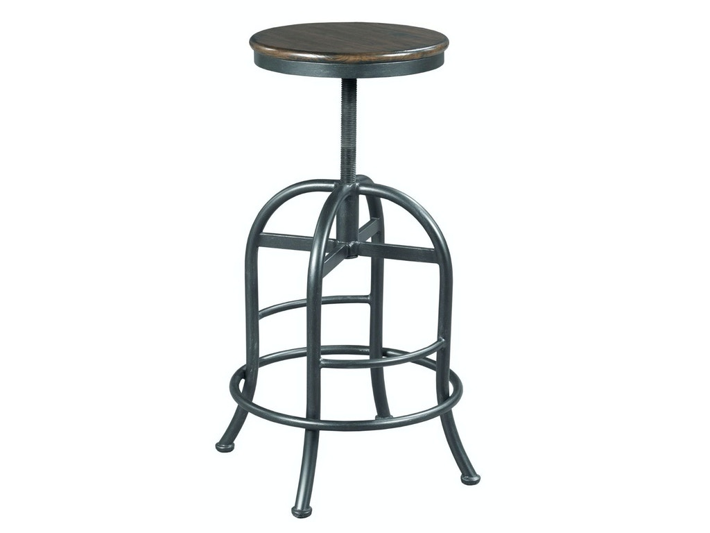 Hammary Bar And Game Room Adjustable Height Pub Stool