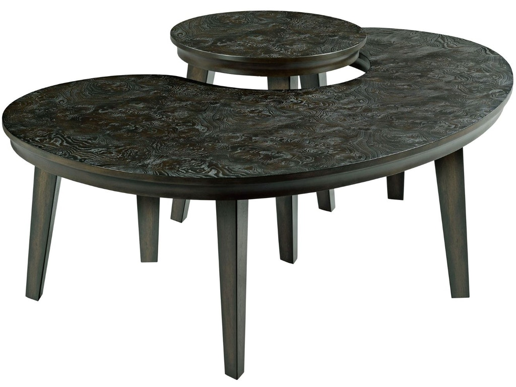Hammary Living Room Kidney Nesting Tables 090-904 - Howell ...