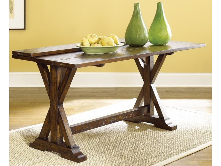 Hammary Flip Top Console Table Hm090276 From Walter E Smithe Furniture Design
