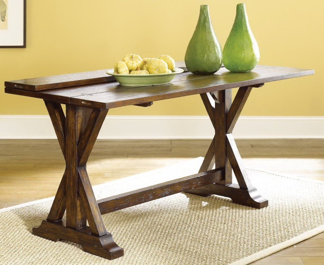 High Quality Hammary Flip Top Console Table 090 276