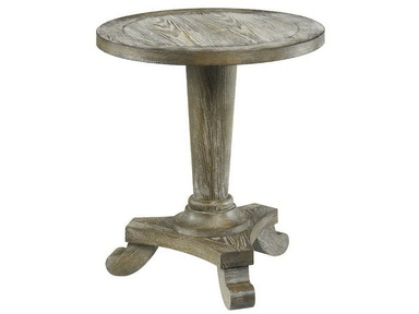 Hammary Driftwood Round Pedestal Table 090-349