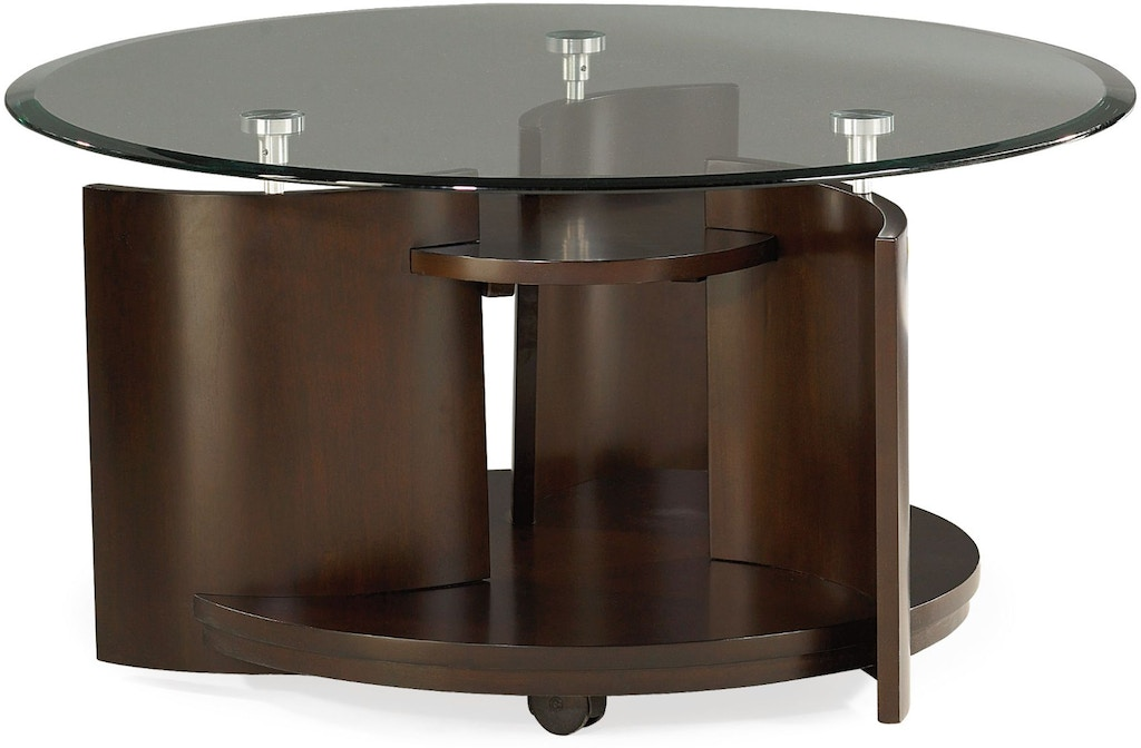Hammary 105 911 Round Cocktail Table Interiors Home