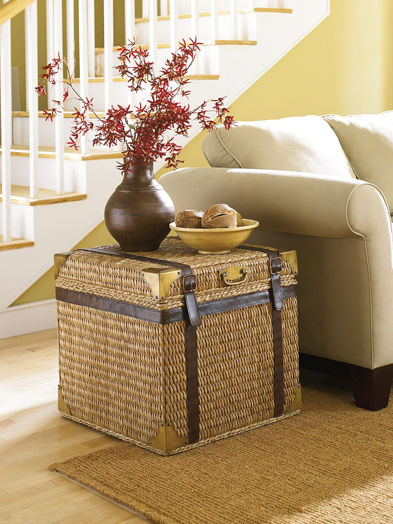Hammary Trunk End Table 110 917