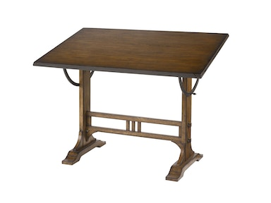 Albany Imports Architect Desk-Kd 166-940