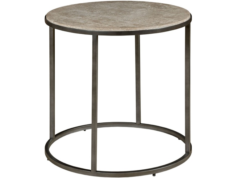 Hammary Living Room Round End Table 190 919 Hennen Furniture St