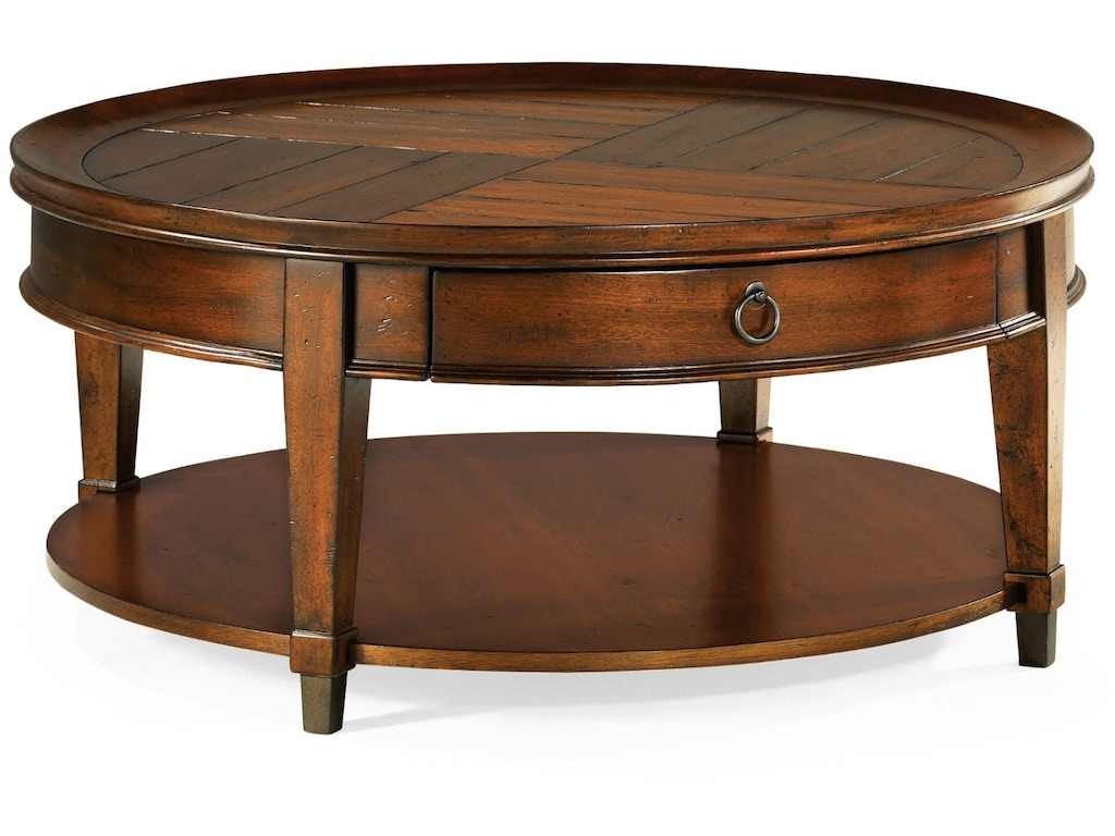 Hammary Living Room Round Cocktail Table 197 911 Carol