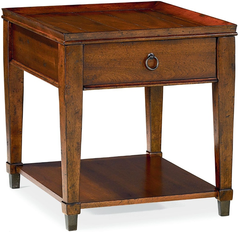 Hammary Living Room Rectangular Drawer End Table 197-915
