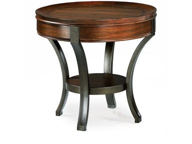 Hammary Round End Table-Kd 197-917