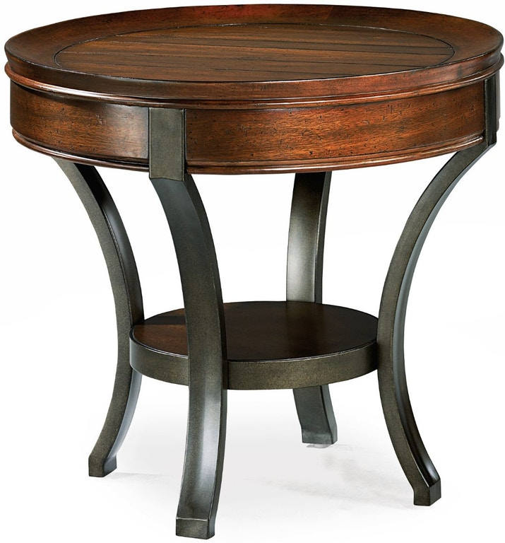 Round End Table Hm197917