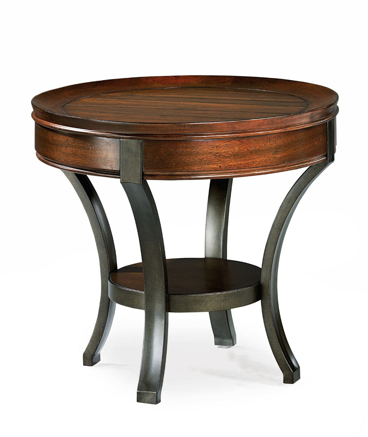 Hammary Round End Table 197 917