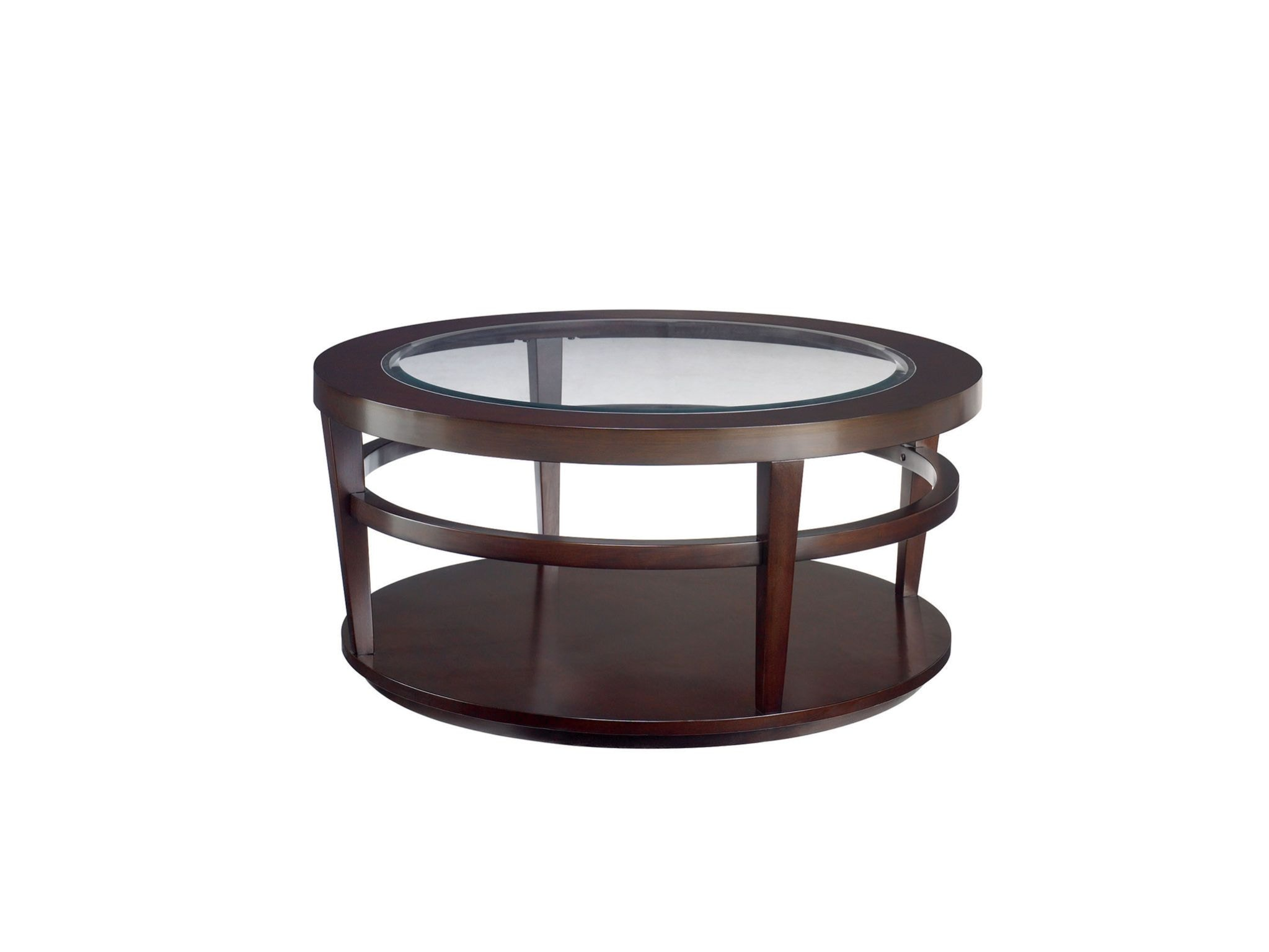 Hammary Round Cocktail Table T20810 T2081505 00
