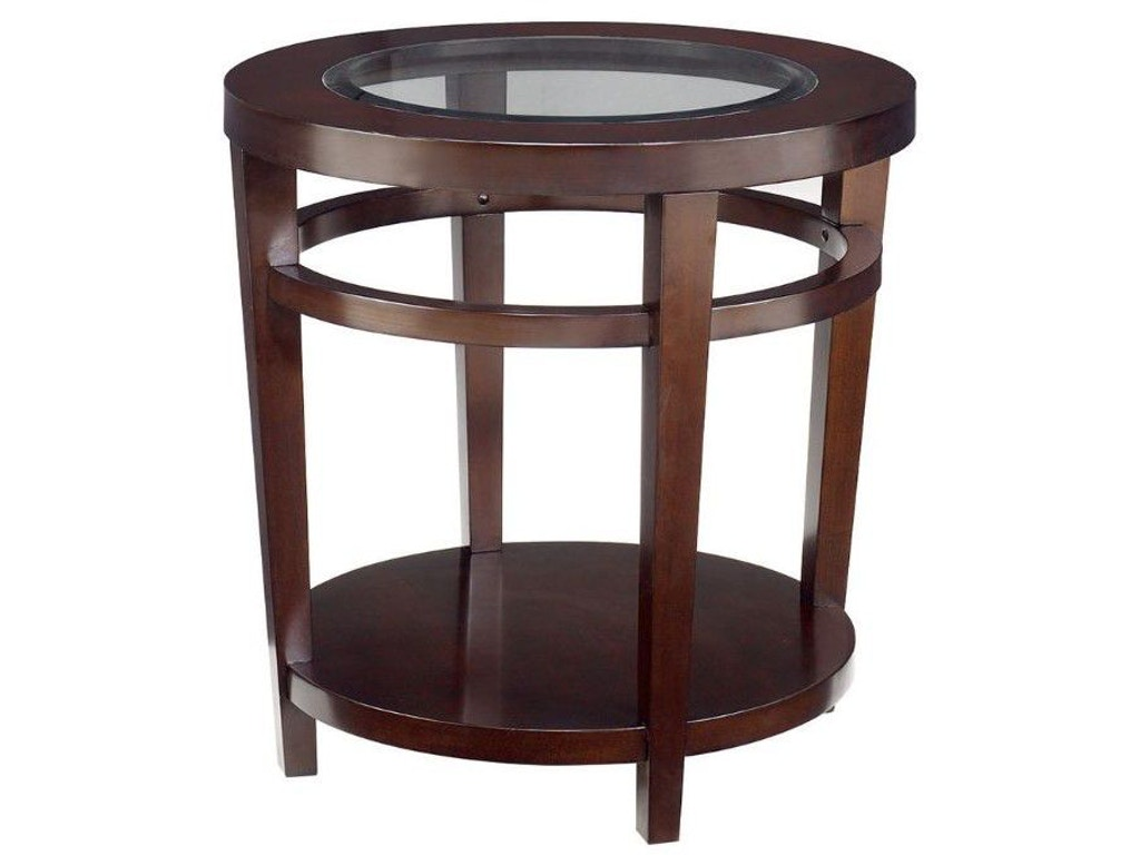 Hammary Living Room Round End Table T20810 T2081535 00 Indian River Furniture Rockledge Fl