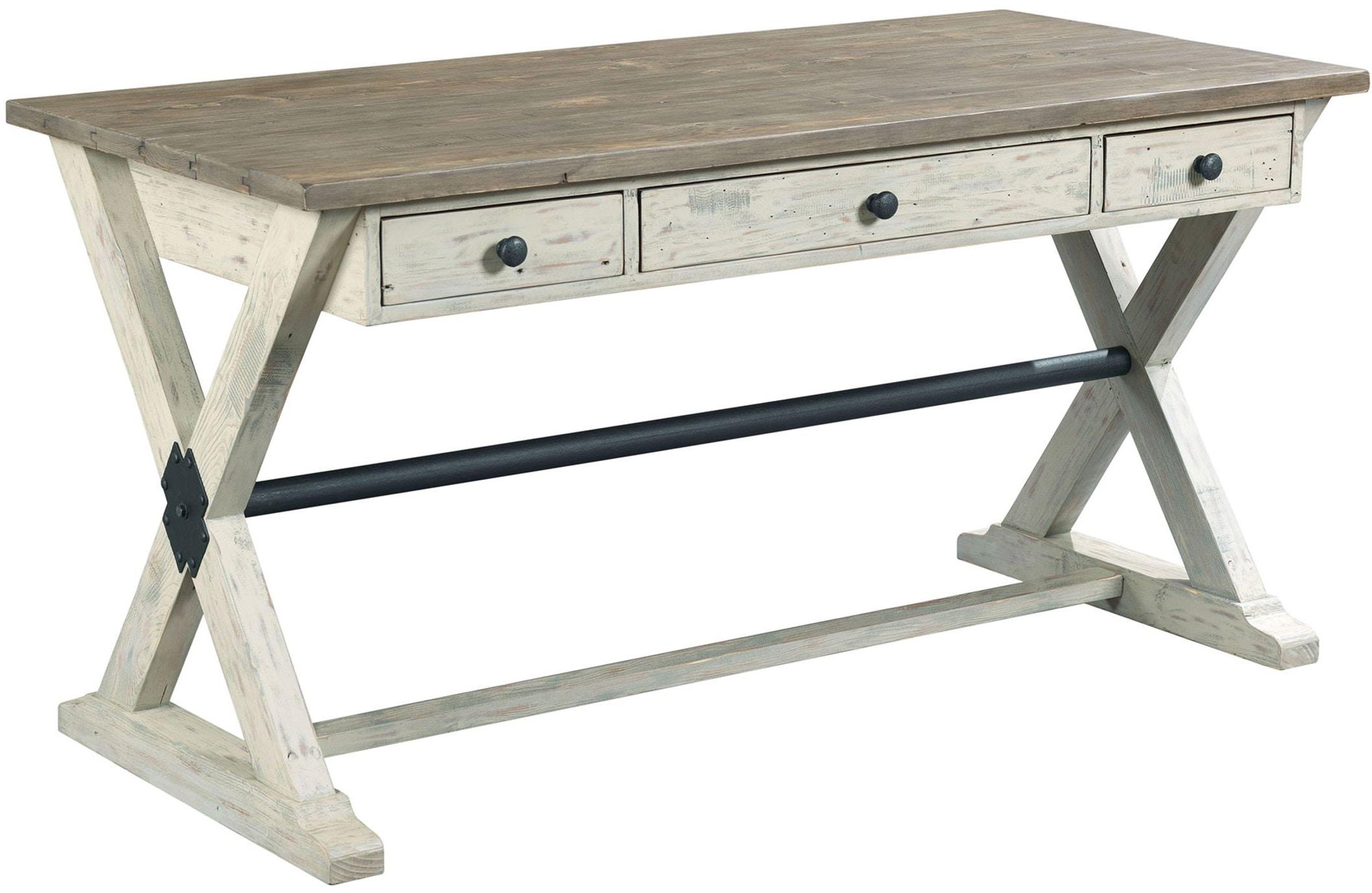 New Hammary Home Office Trestle Desk 523-940 - Carol House Furniture  AO04