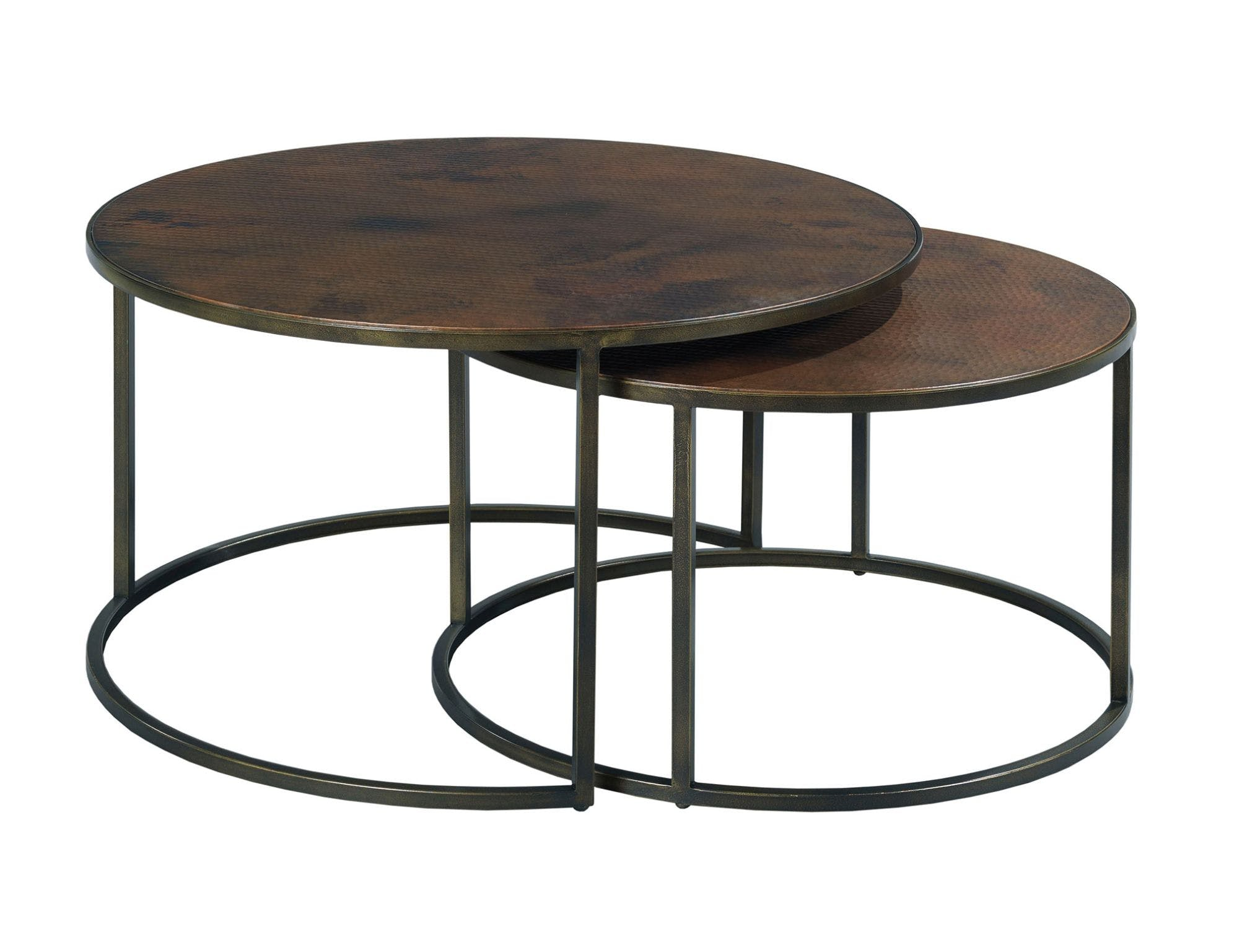 Hammary Living Room Round Cocktail Table 553 911 D Noblin Furniture Pearl And Jackson Ms