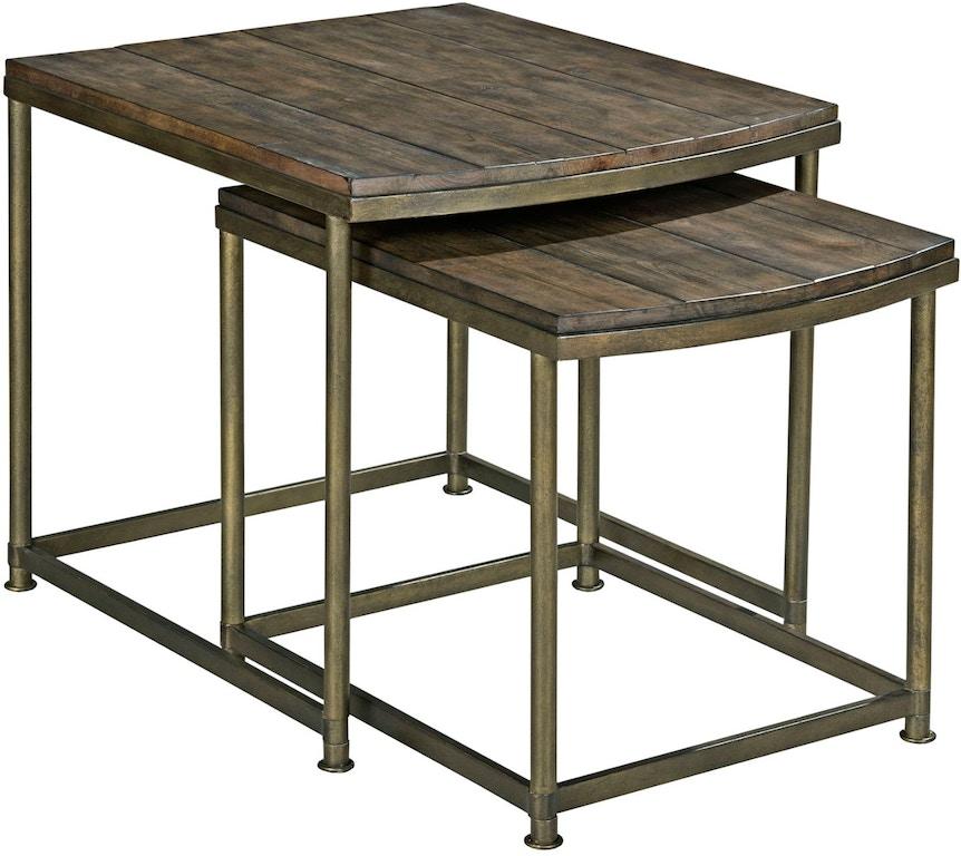 Hammary Living Room Nesting End Table 563-917 - Carol House ...