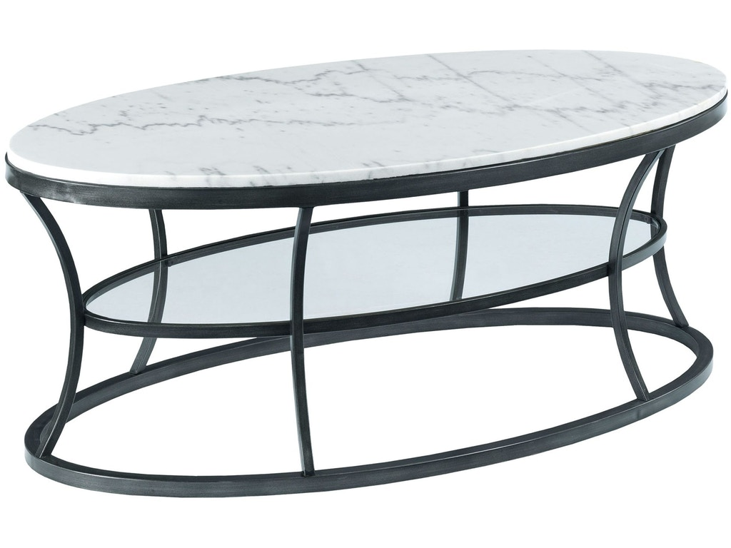 Hammary Living Room Oval Cocktail Table 576 912 Seaside Furniture Toms River Brick And