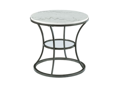 Albany Imports Round End Table 576-918