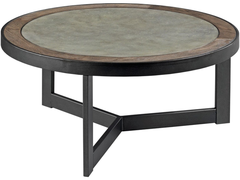 Hammary Living Room Round Cocktail Table 650 911 Seaside