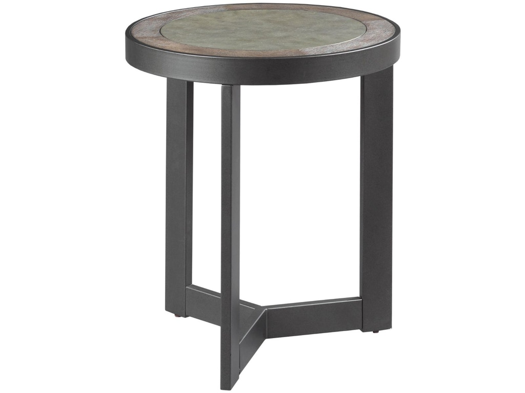Hammary Living Room Round End Table 650 917 Seaside
