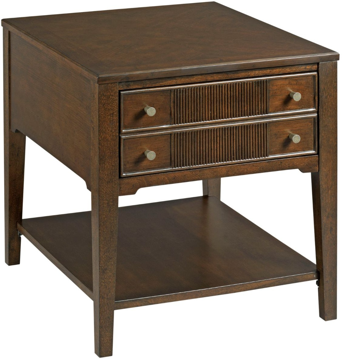 living room table with drawers hammary living room rectangular drawer end table 674 915 23362