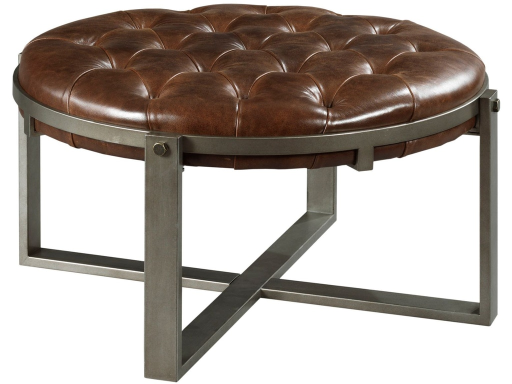 Hammary living room round cocktail table 677 911 quality for Cocktail 911