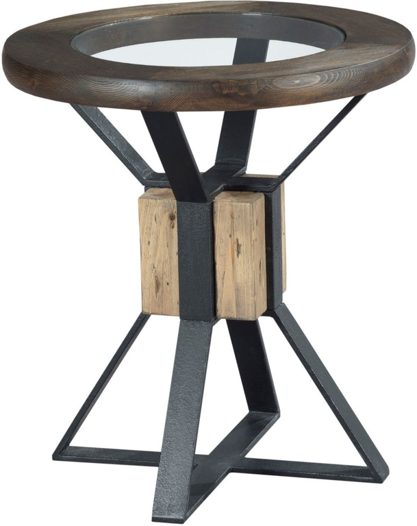 Hammary Living Room Compass End Table 710 919 Designer