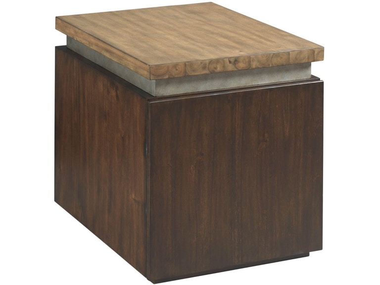 Hammary Living Room Cube End Table Hm798915 Walter E Smithe Furniture Design