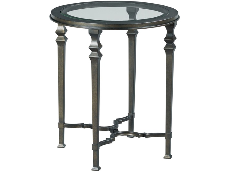 Hammary Living Room Round End Table 840 918 Upper Room