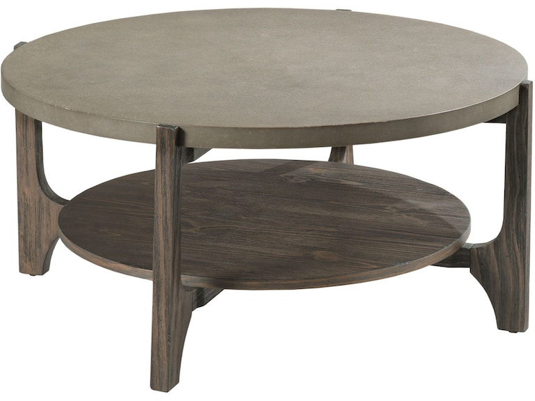 Hammary Living Room Round Coffee Table 962 911 Hennen Furniture St Cloud Alexandria And