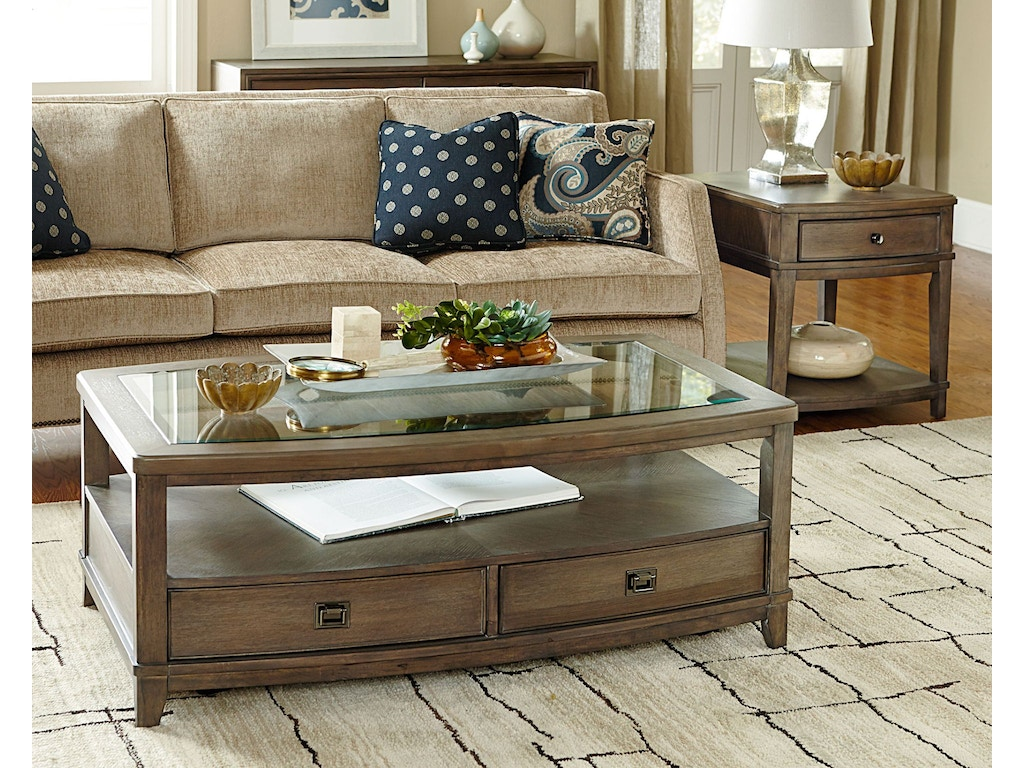 Hammary Living Room Rect End Table 488 915 Carol House Furniture Maryland Heights And
