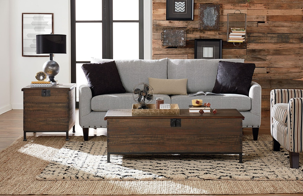 Hammary Living Room Milling Chest End Table 090-884 - Vermeulen ...