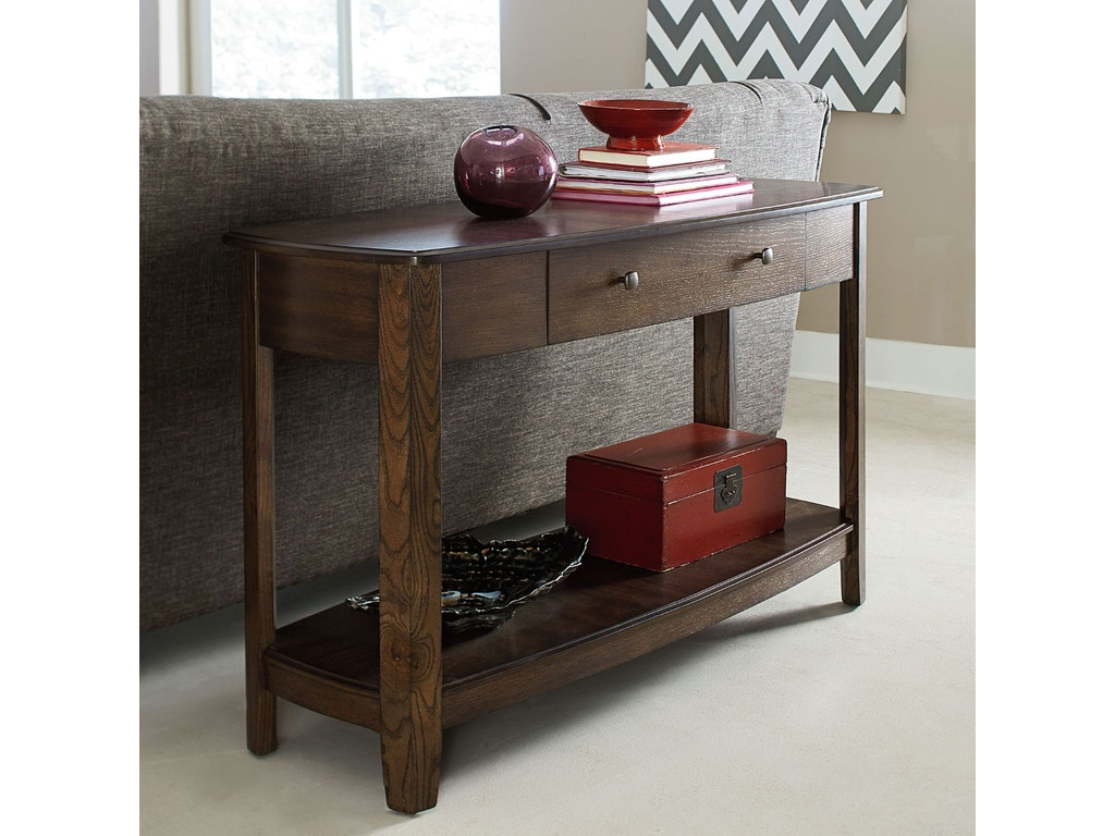 Hammary living room sofa table 446 925 jensen home furnishings hammary sofa table 446 925 geotapseo Image collections