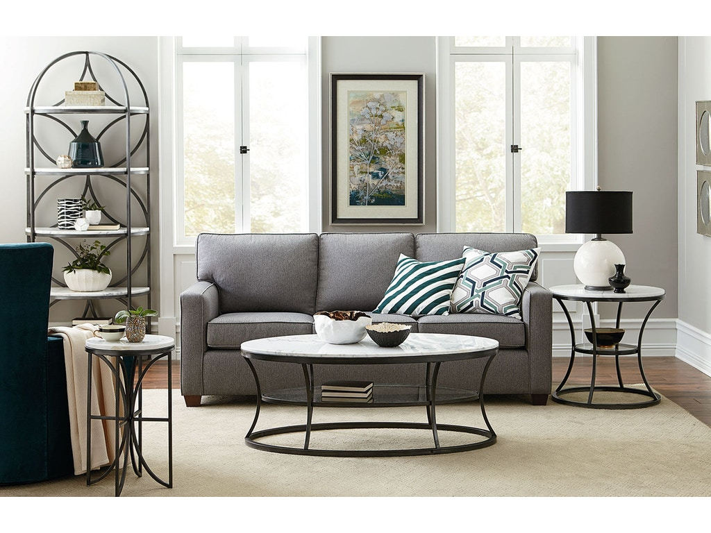 Hammary Living Room Round End Table 576 918 Brownlee S