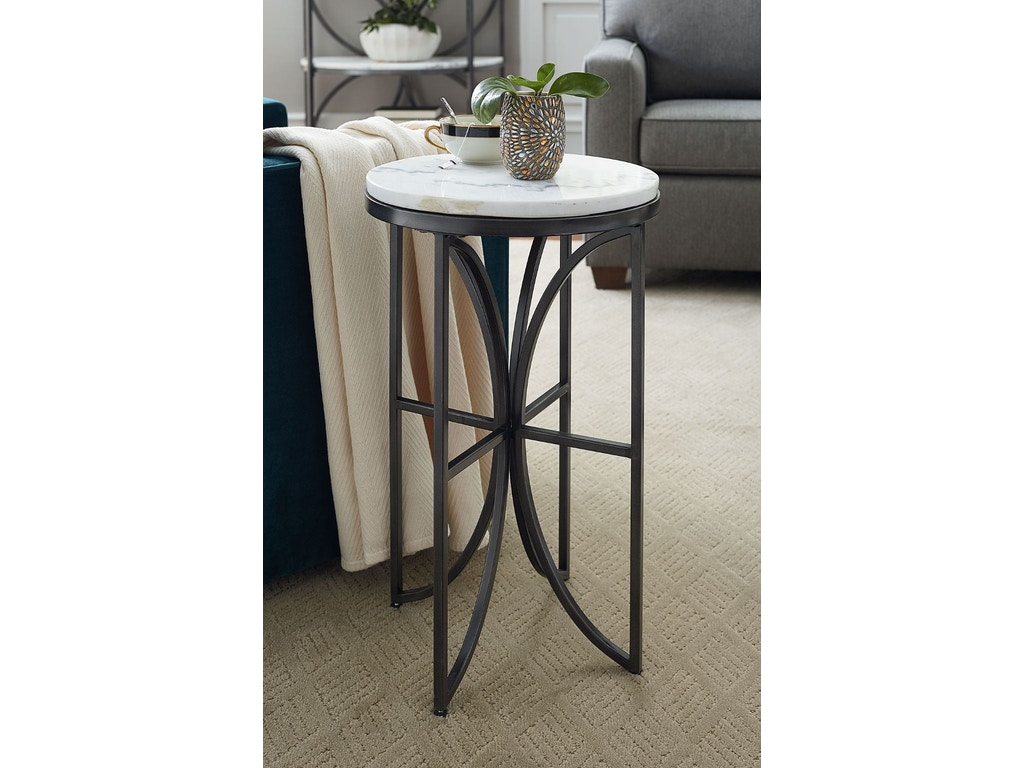 Hammary Living Room Small Round Accent Table 576 917
