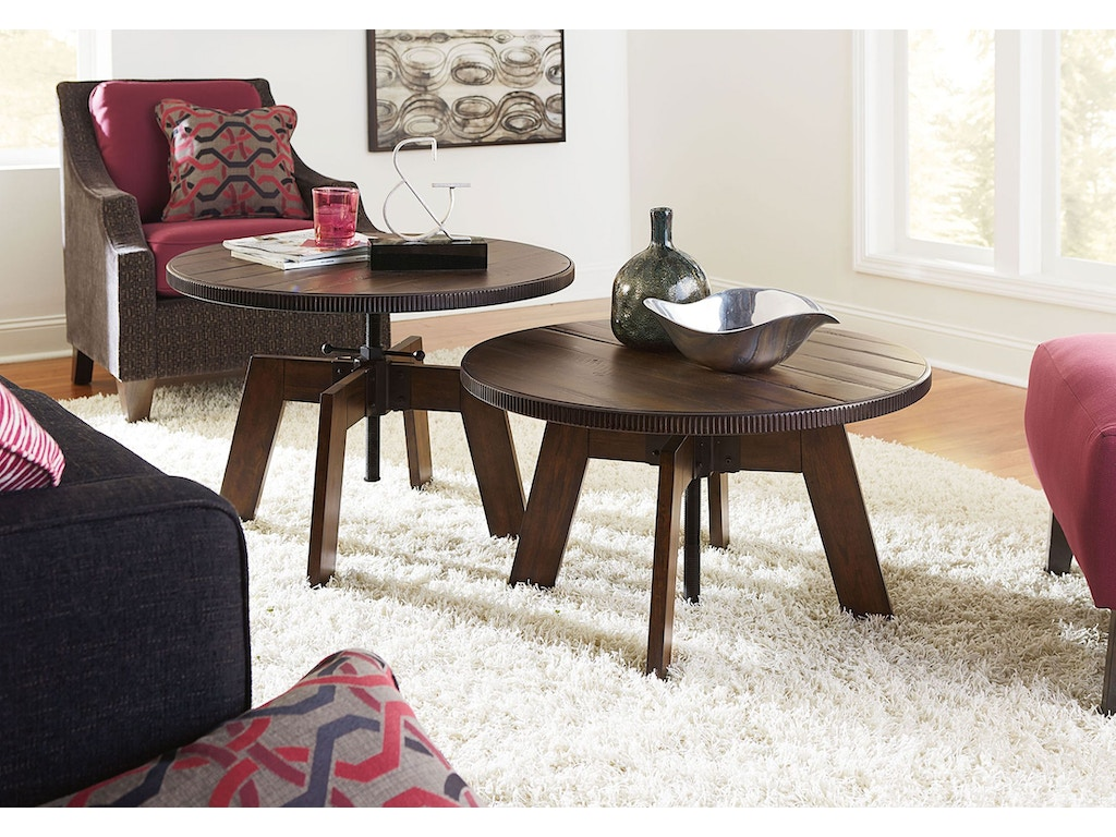 Hammary Living Room High Low Table 090 790 Seaside