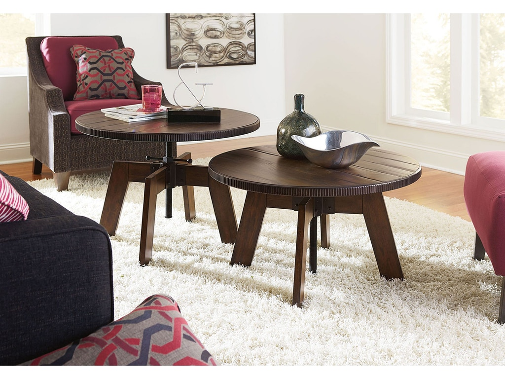 Hammary Living Room High-low Table 090-790