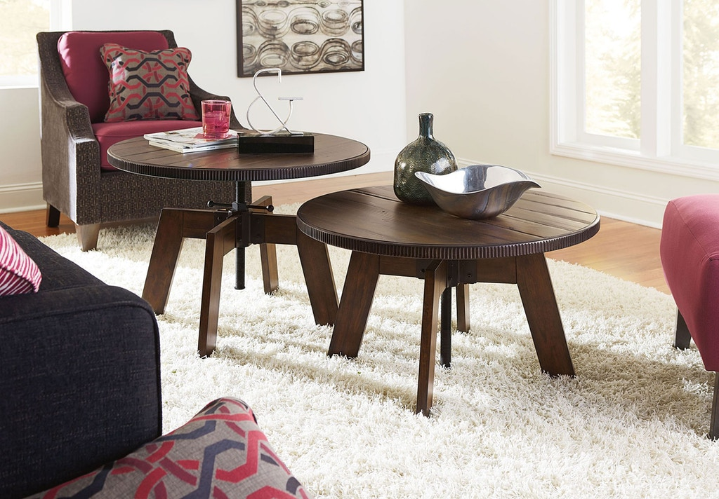 Outstanding Hammary Living Room High Low Table 090 790 Carol House Gmtry Best Dining Table And Chair Ideas Images Gmtryco