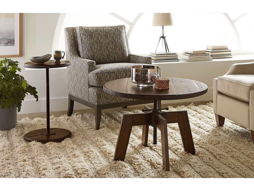 Hammary Living Room High Low Table 090 790 Cherry House Furniture La Grange And Louisville Ky