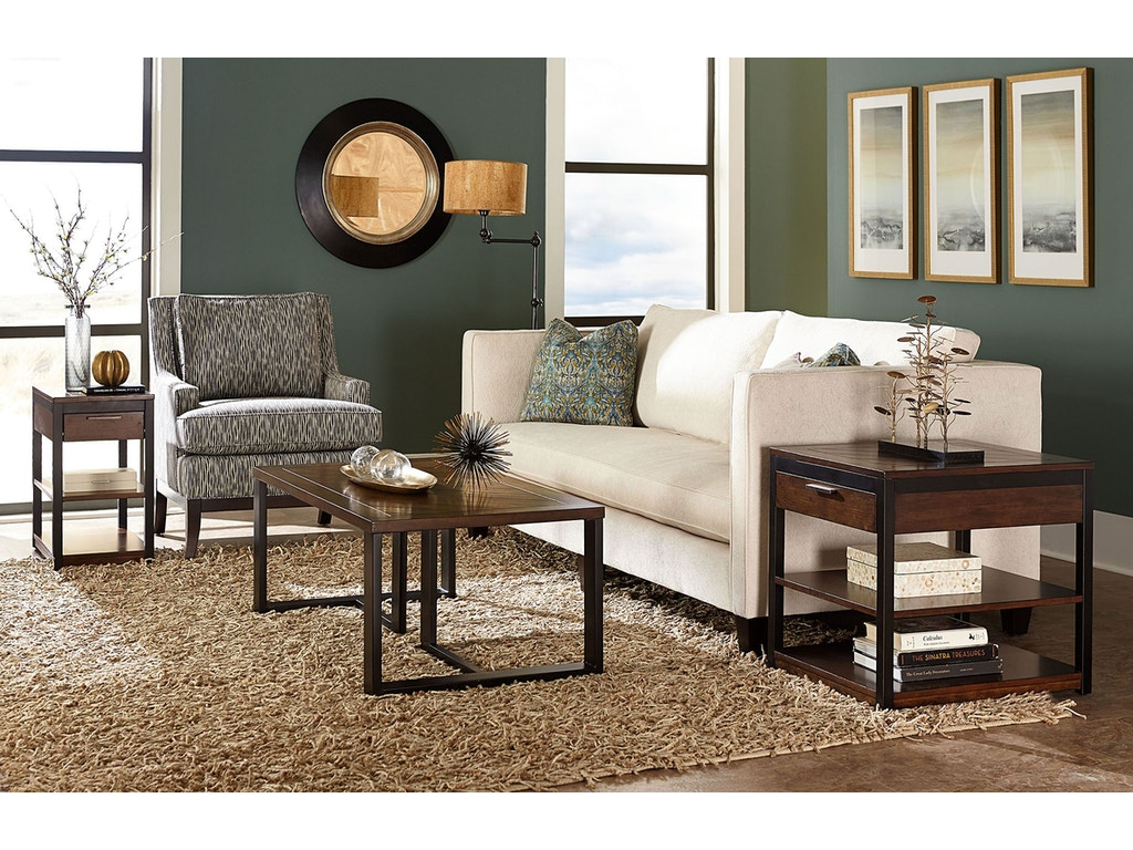 Hammary Living Room Charging Chairside Table 529 916 Carol House Furniture Maryland Heights