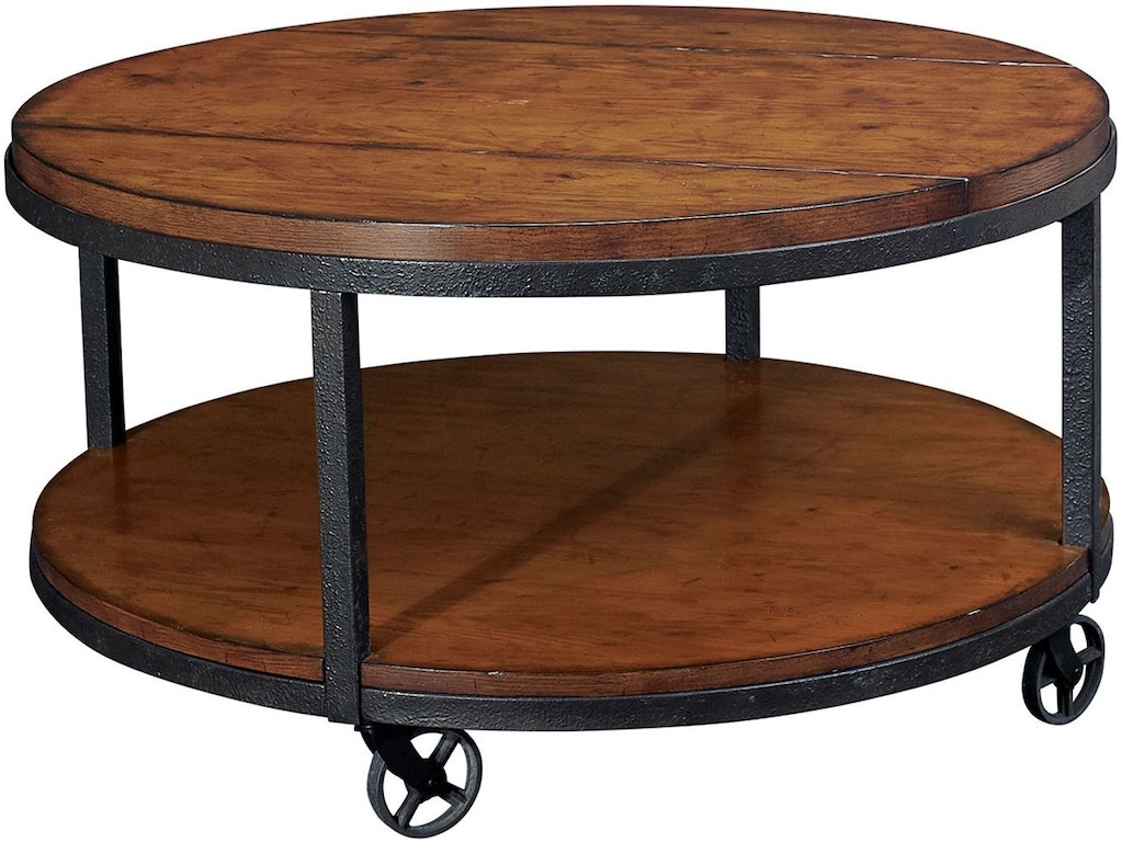 Hammary Living Room Round Cocktail Table T20750 T2075205