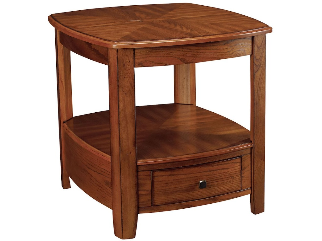 Hammary Living Room Rectangular Drawer End Table T20069