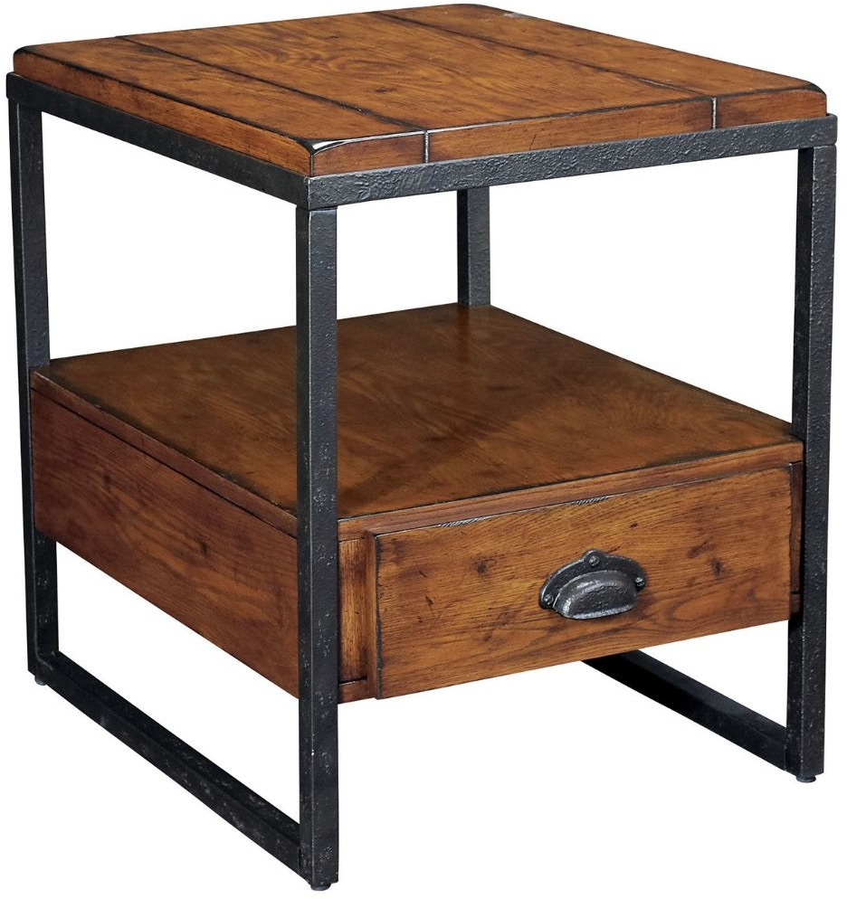 Hammary Living Room Rectangular Drawer End Table T20750