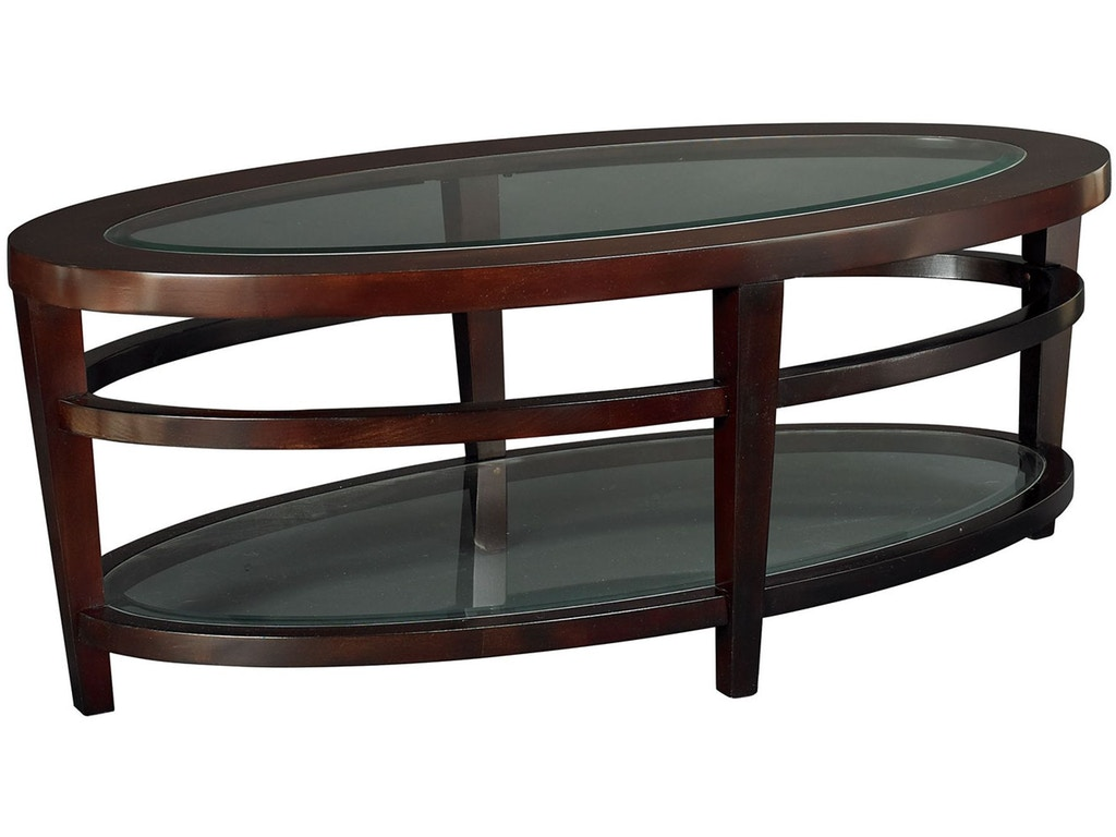Hammary living room oval cocktail table t20810 t2081506 00 for Cocktail tables and chairs